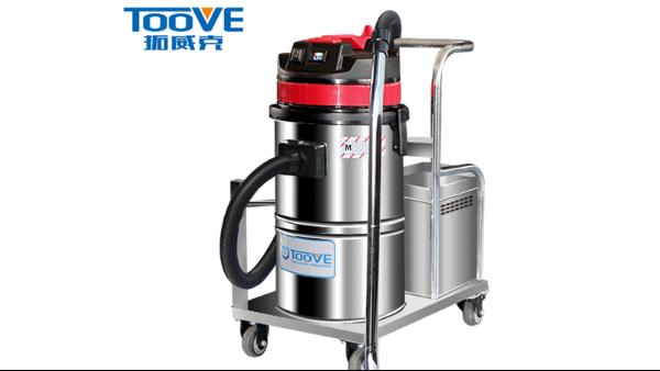 工厂的粉尘怎么清理?拓威克移动式电瓶工业吸尘器来帮您!