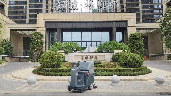 你真的知道操作全自动电瓶式洗地机的正确步骤吗?