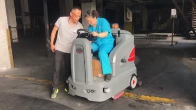如何保养驾驶式扫地机?