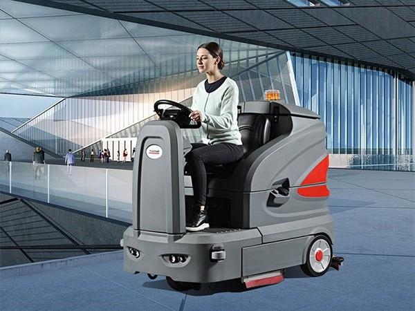 高美智慧型S-130/S-160驾驶式洗地机