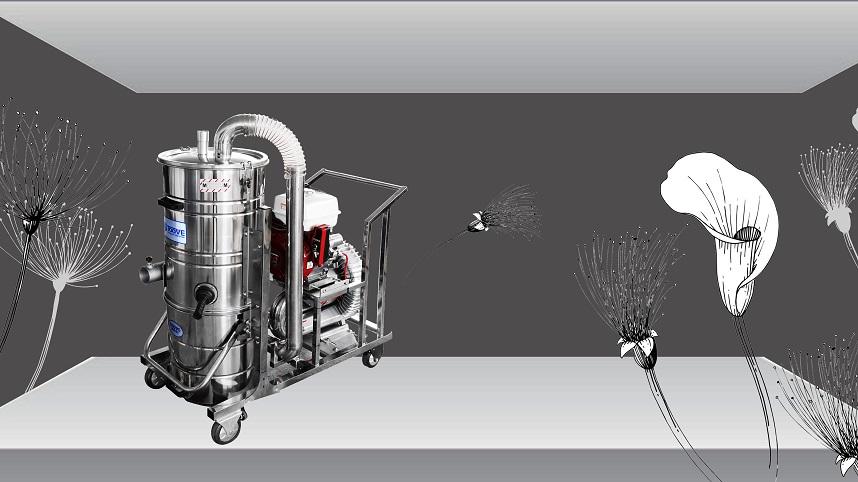 马路保养 环卫吸尘 拓威克汽油驱动吸尘器
