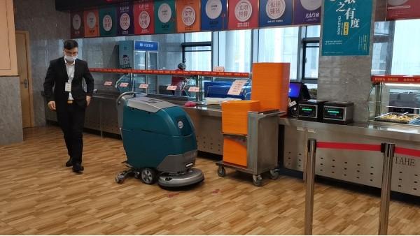 超市如何选择合适的手推洗地机用于日常保洁?