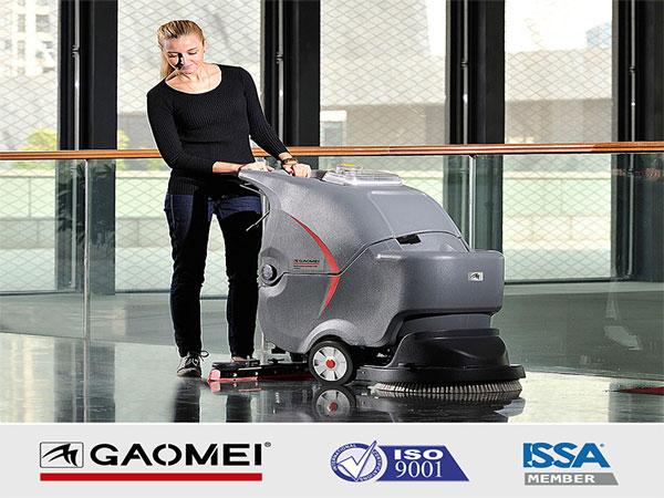 高美50B手推式洗地机 自动洗地机