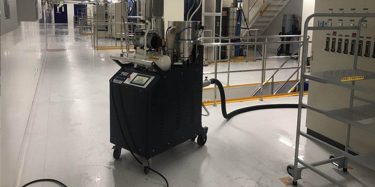 中天科技选用拓威克脉冲反吹工业吸尘器