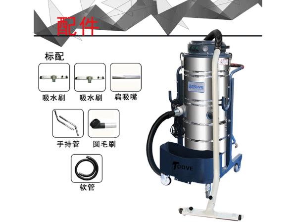 拓威克新款PY361大功率工业用吸尘器带扒吸装置
