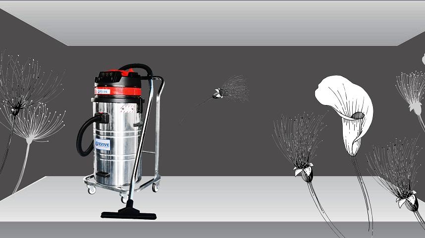 拓威克PY308B/P单桶不锈钢吸尘器 车间粉尘吸尘器