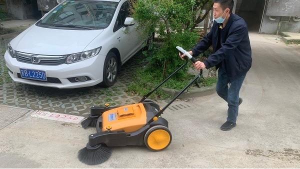 无动力扫地机给环卫工作带来了哪些优势?