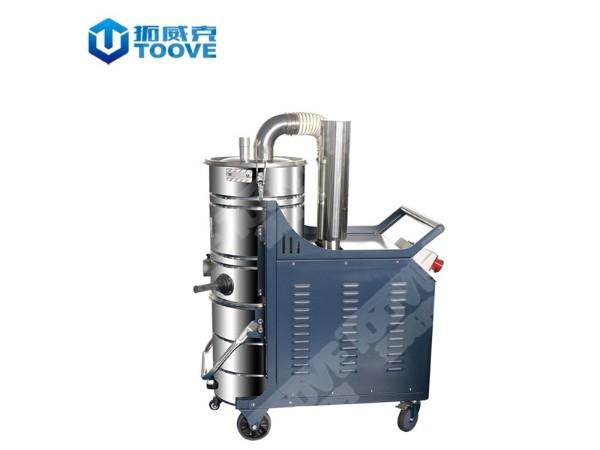 拓威克大功率工业吸尘器吸尘机双桶高配型